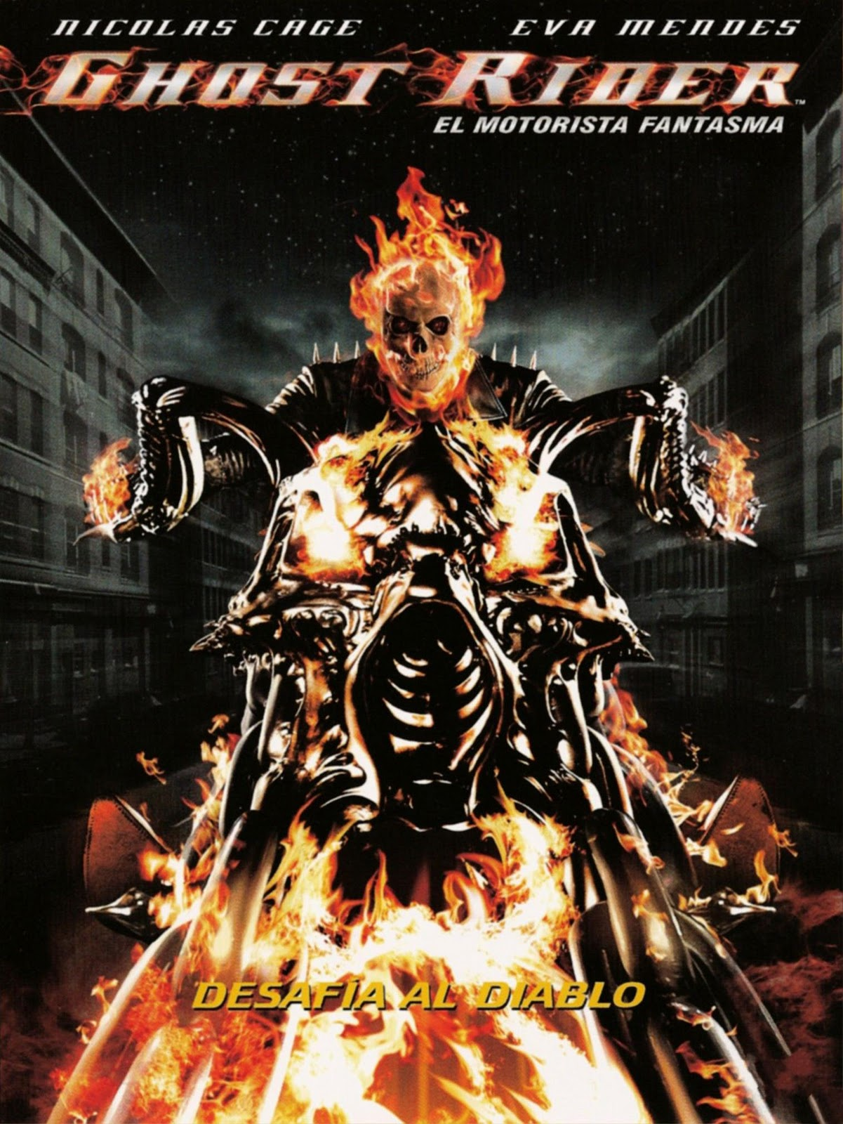 Ghost Rider. El motorista fantasma (2007)