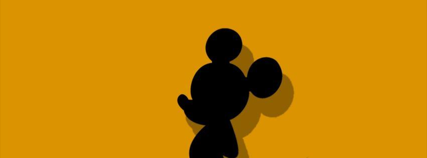 Mickey mouse facebook cover