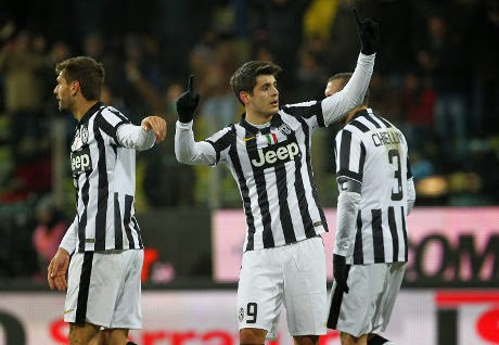 Copa Italia : Juventus Menang Tipis Atas Parma 1-0