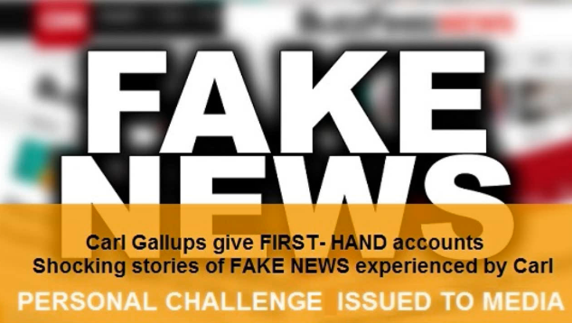 FAKE NEWS: Carl Gallups and Sandy Hook?