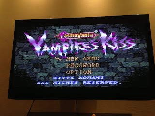 Castlevania Prototype Title Screen