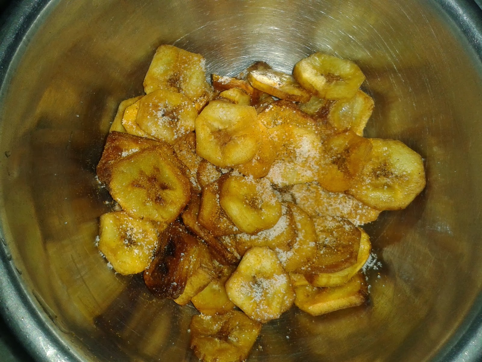 how to make indian banana chips