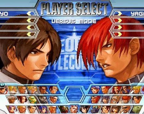 Neo GEO KOF Game