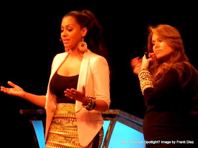 Loren Ridinger and LaLa Anthony unveiled 'Motives for LaLa' at 2012 Market America World Conference