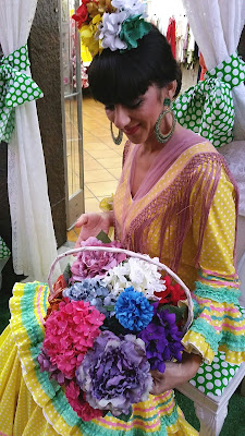 Flores de colores
