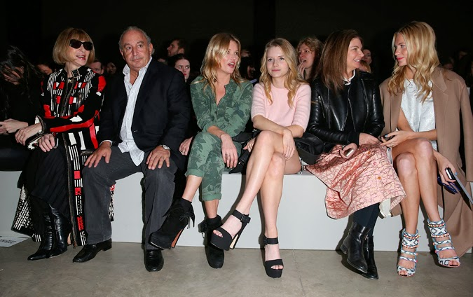 Front row Topshop
