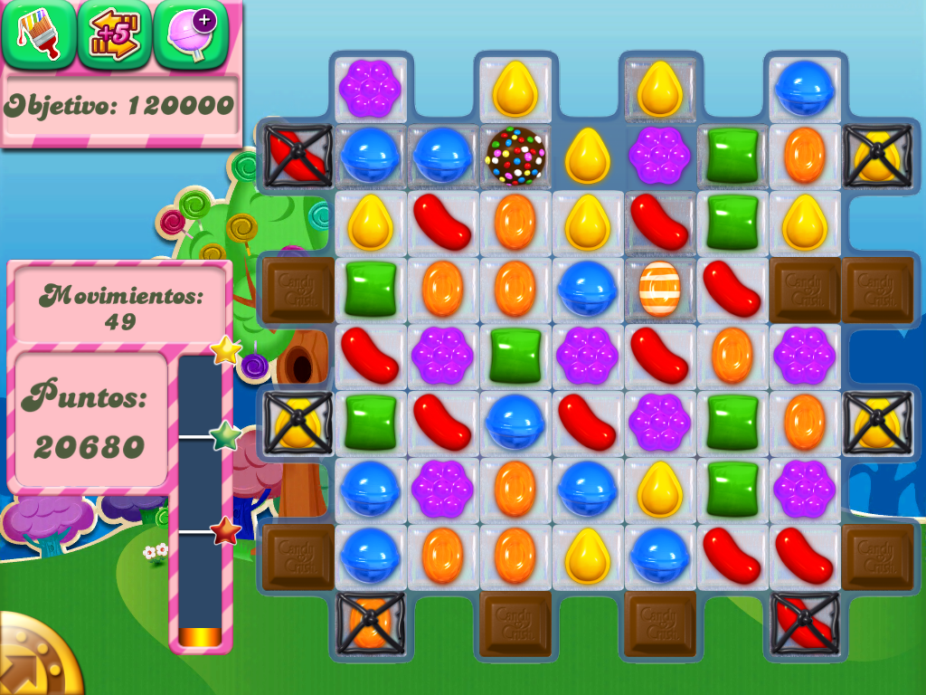 Candy Crush el juego ms adictivo para Android e iOS  Gua