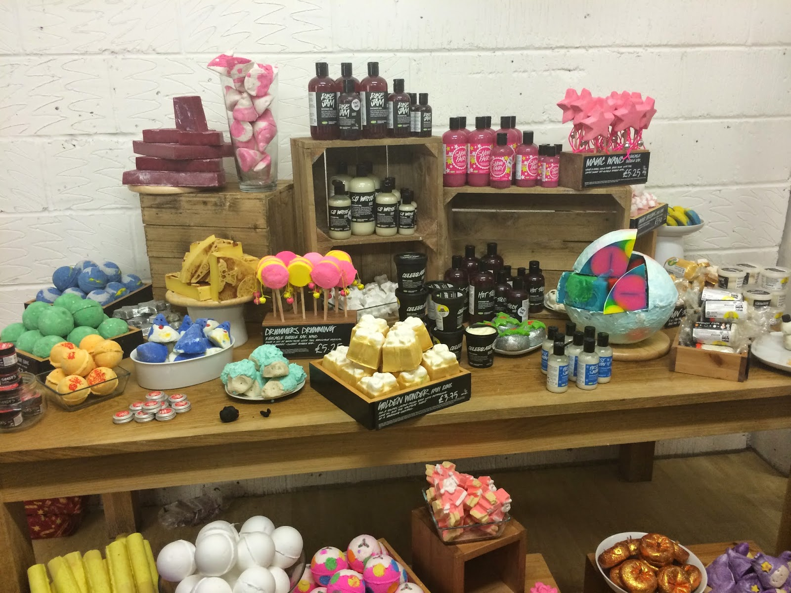 Lush Christmas and Halloween Collection Portsmouth 2014