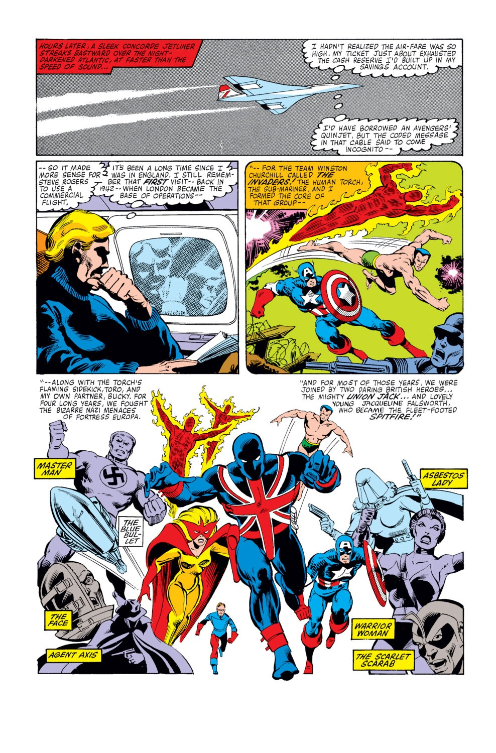 Captain America (1968) Issue #253 #168 - English 10