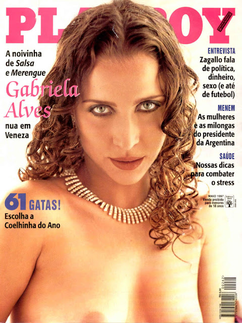Gabriela Alves - Playboy 1997