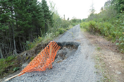 Newfoundland Trail Washout