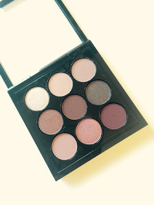 Eyes on MAC burgundy times 9 palette swatches and review