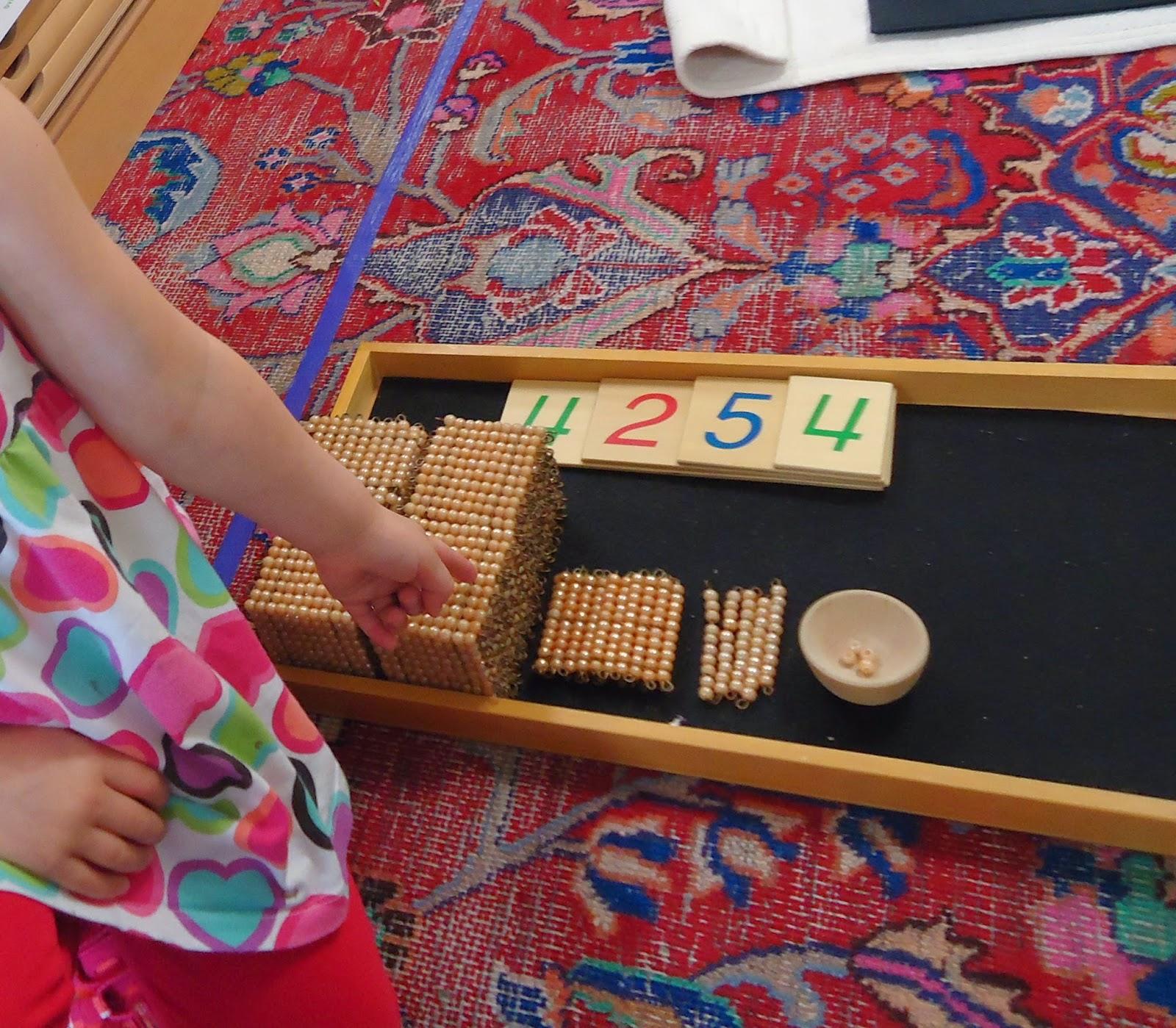To The Lesson Montessori Mornings