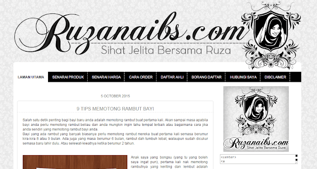 edit/design/customize blog, banner blog murah