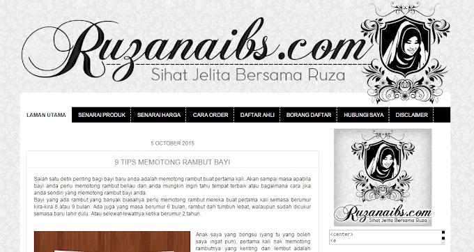 Tempahan Design Blog Ruzanaibs.com