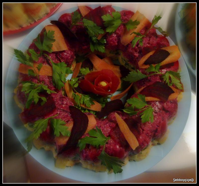 iki renkli patates salatası