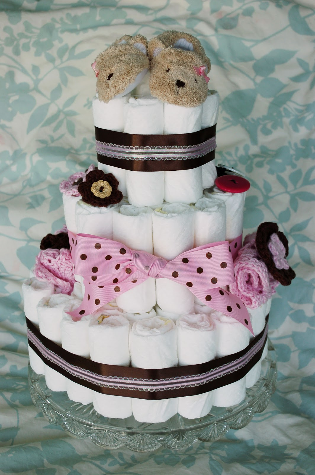 cake is a great homemade baby shower gift that doubles as a baby