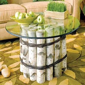 brzozowy stół ddewniane inspiracje zrób to sam eco manufaktura