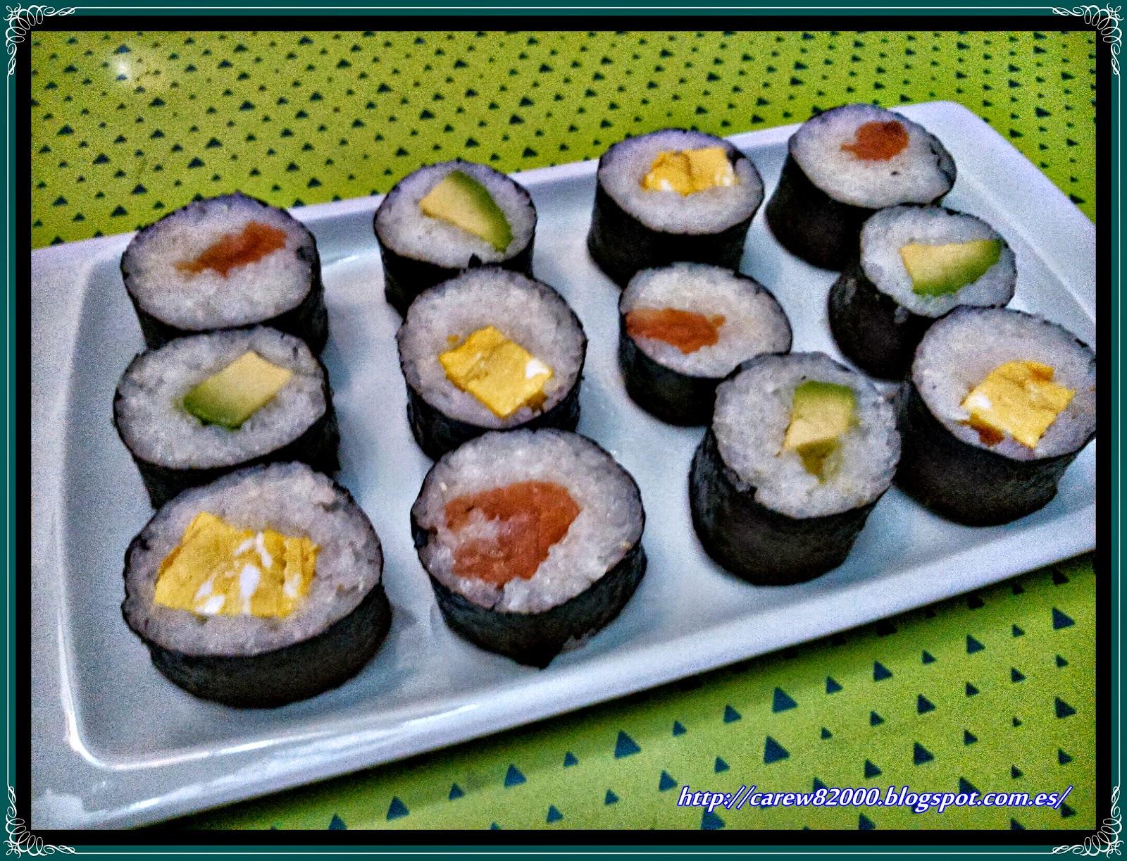Sushi sin alga cocinar en casa es - Cocinar sushi facil ...