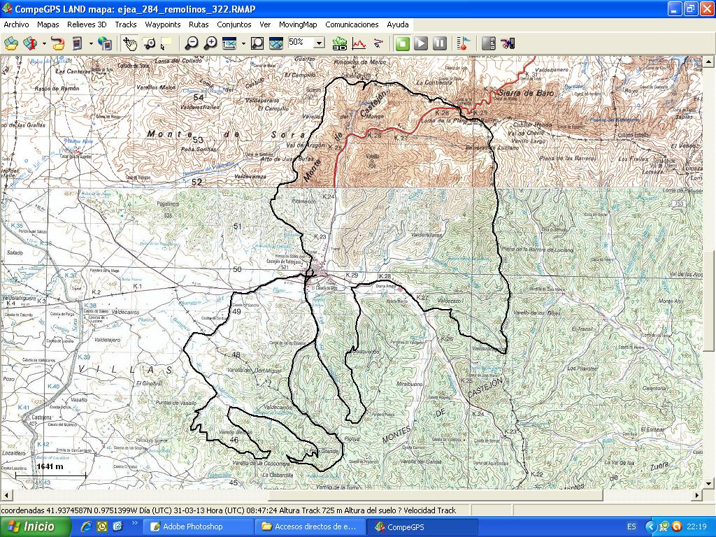 Castej n de valdejasa reglamento 2 cicloturista los for Mirador del pirineo