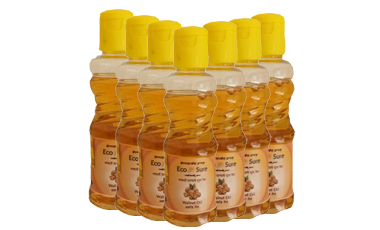 Wooden Churner Almond and Walnut Oil