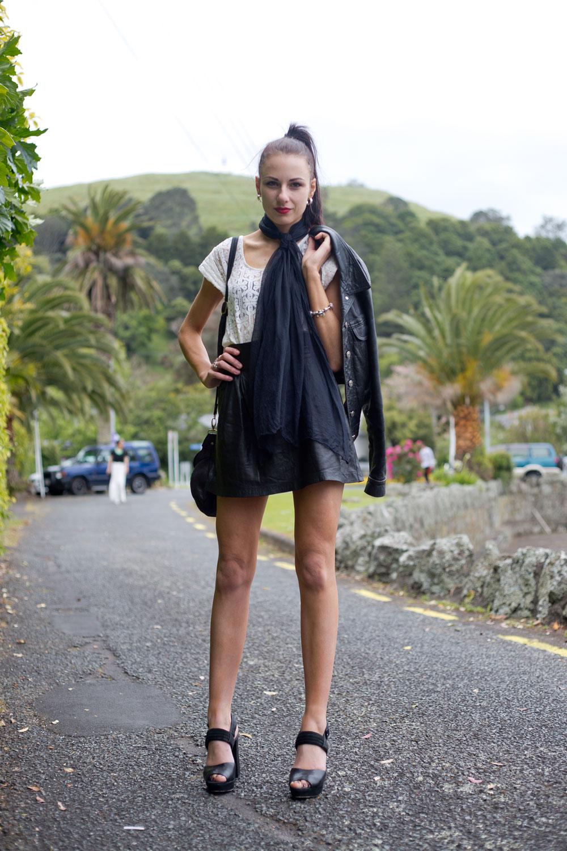 Foureyes New Zealand Street Style Fashion Blog Adele