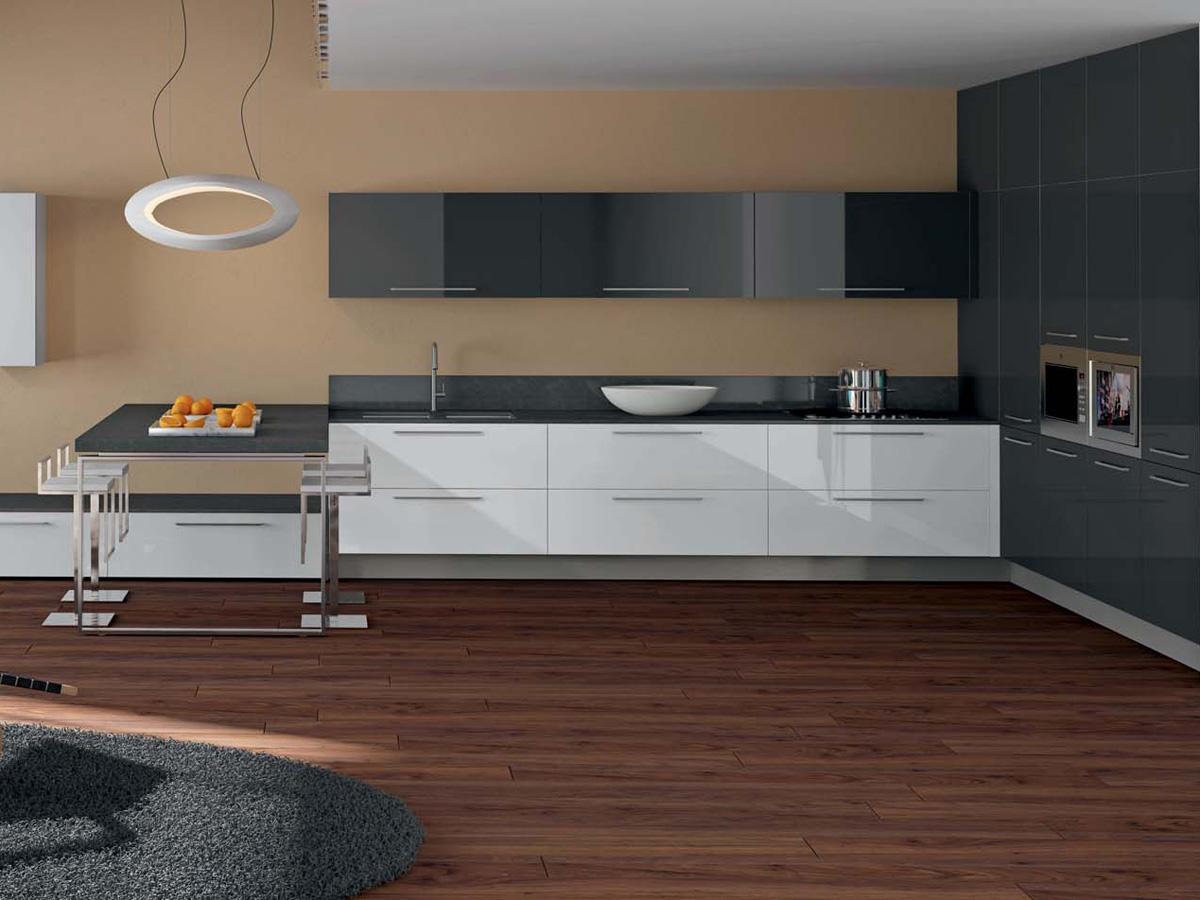 Los complejos rincones de la cocina cocinas con estilo for Cocinas en forma de l