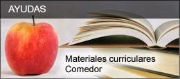 AYUDAS Materiales curriculares y Comedor