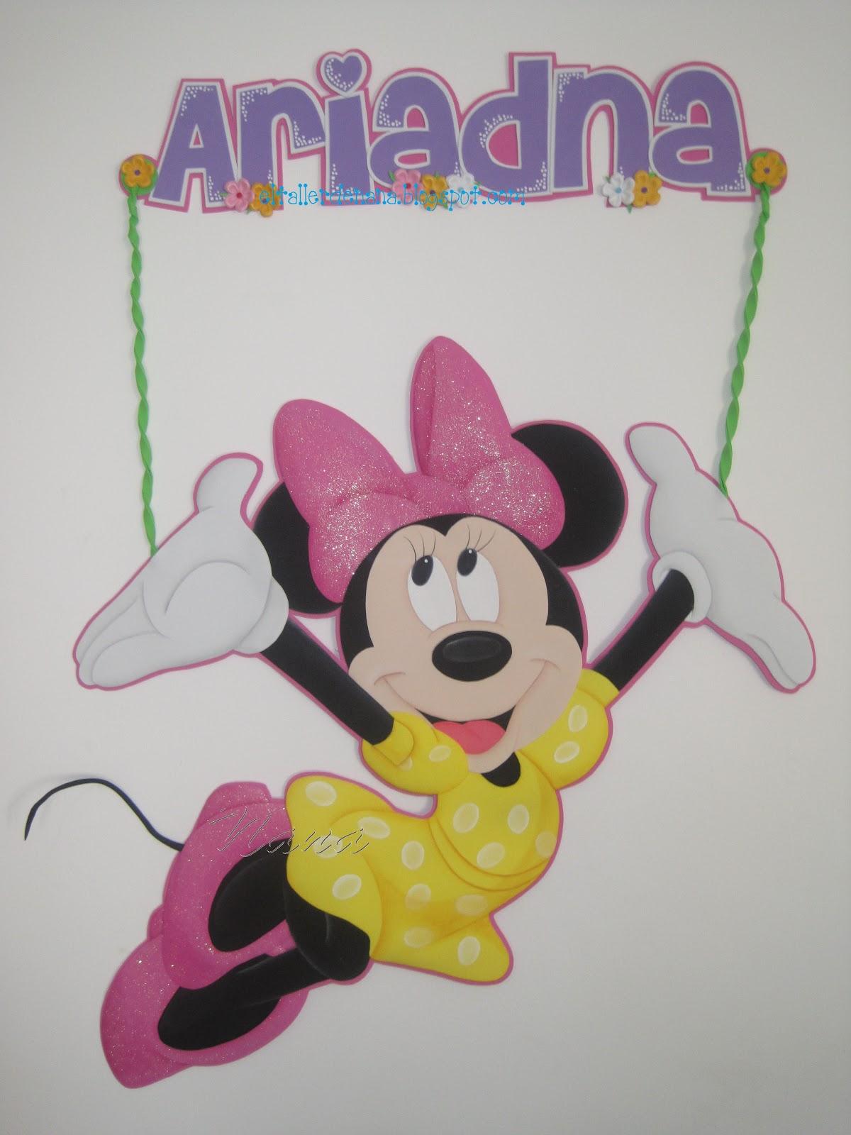 Aplique De Minnie