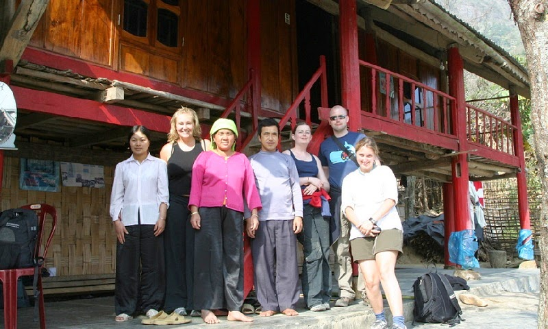 Homestay in Ta Van Village