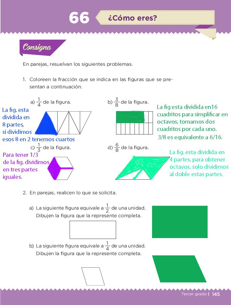 ¿Cómo eres? Desafios matemáticos 3ro bloque 5/2014-2015