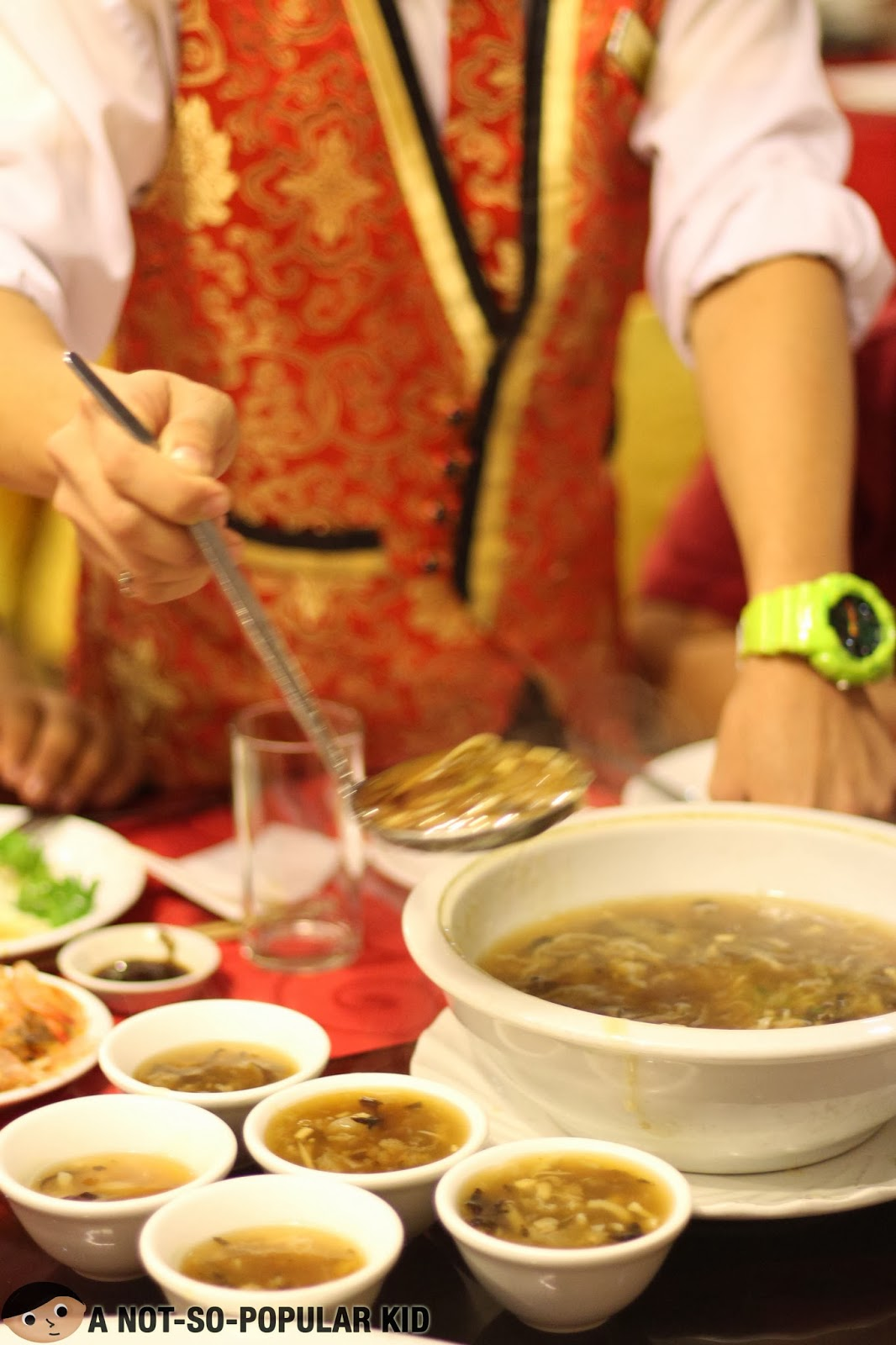 Three Variety Dried Scallop Soup of UNO Seafood Restaurant