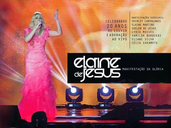 CD e DVD Manifestação da Glória de Elaine de Jesus