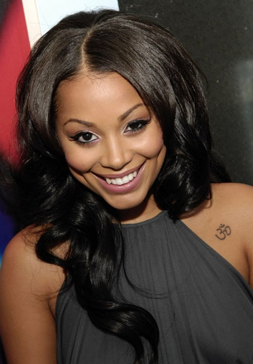 Hairstyles for Black Women with Long Wavy Hair