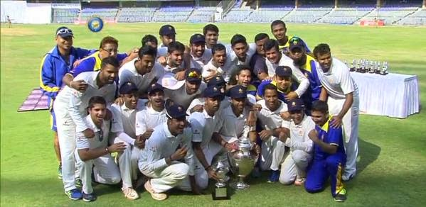 Ranji Trophy 2014-15 Final – Karnataka vs Tamil Nadu