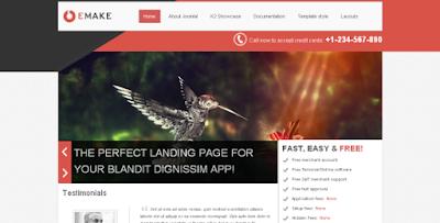 Template Joomla kusus Marketing SEO Premium Full Respoinsive Web Versi 2.5 & 3.2