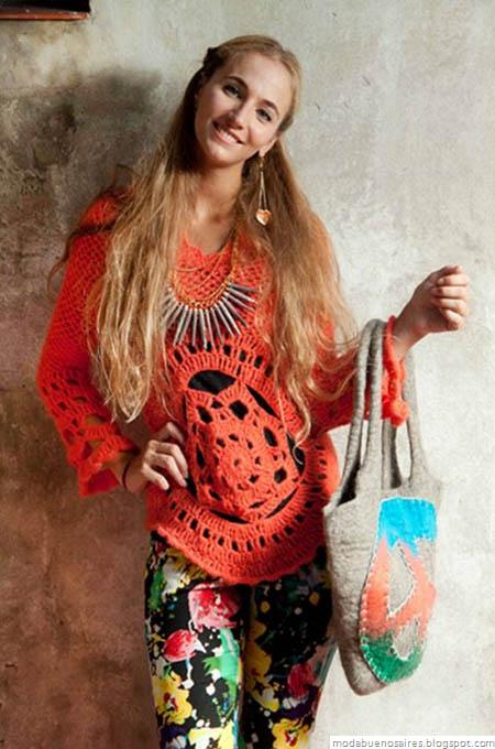 De las Bolivianas tejidos artesanales. Sweaters tejidos.