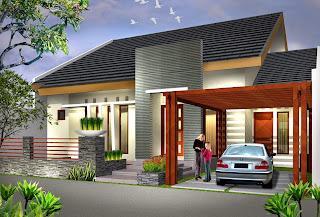 Contoh Desain Rumah Minimalis 7