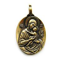 """Образ Богоматери """"Умиление"""" купить подвески христианство"""