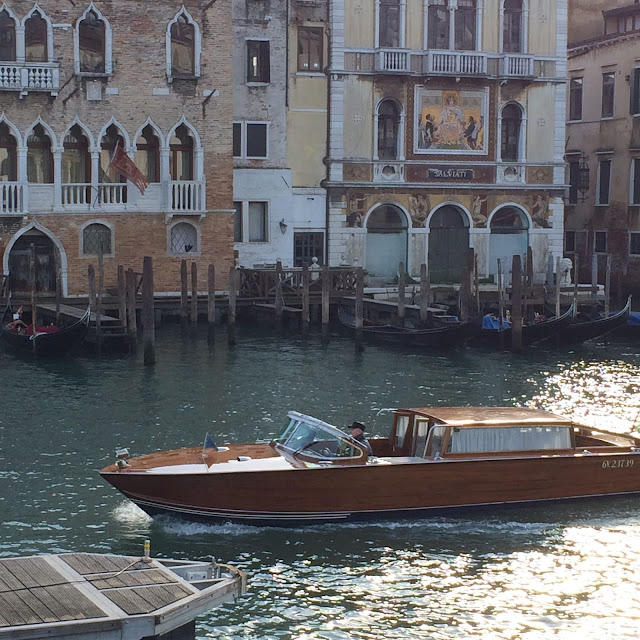 boat taxis in Venice