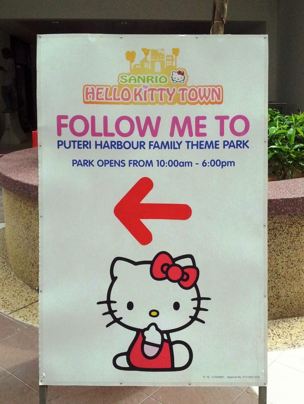 Hello kitty town puteri harbour family theme park johor bahru malaysia - Sanrio Hello Kitty Town Johor Bahru Malaysia