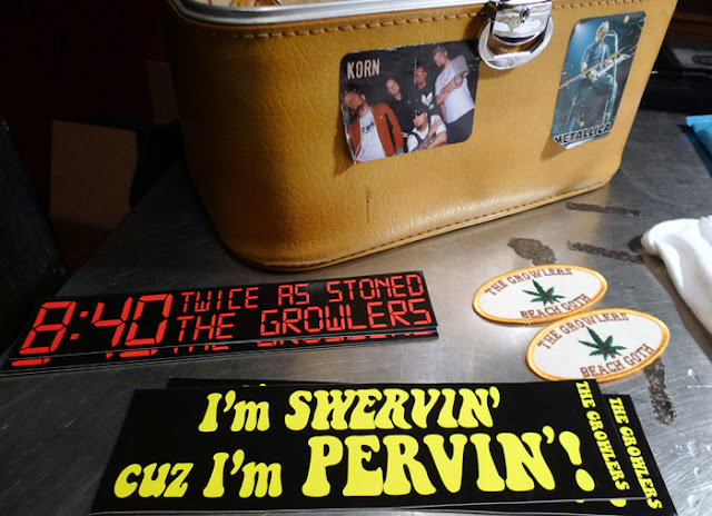 The Growlers merch