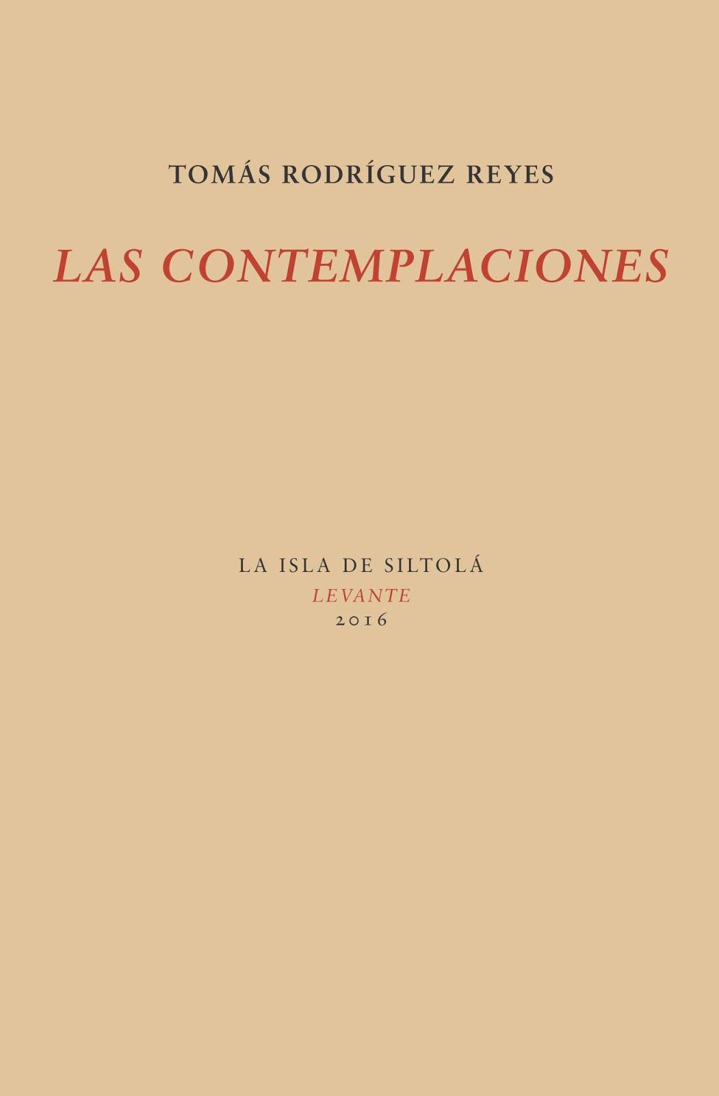 Las contemplaciones (2016)