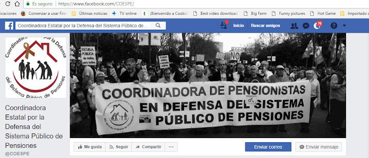 coordinadora de pensionistas