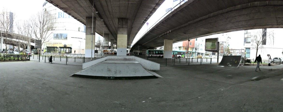 skatepark paris bagnolet