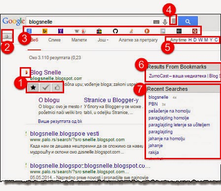 bolja pretraga pomoću Better Search