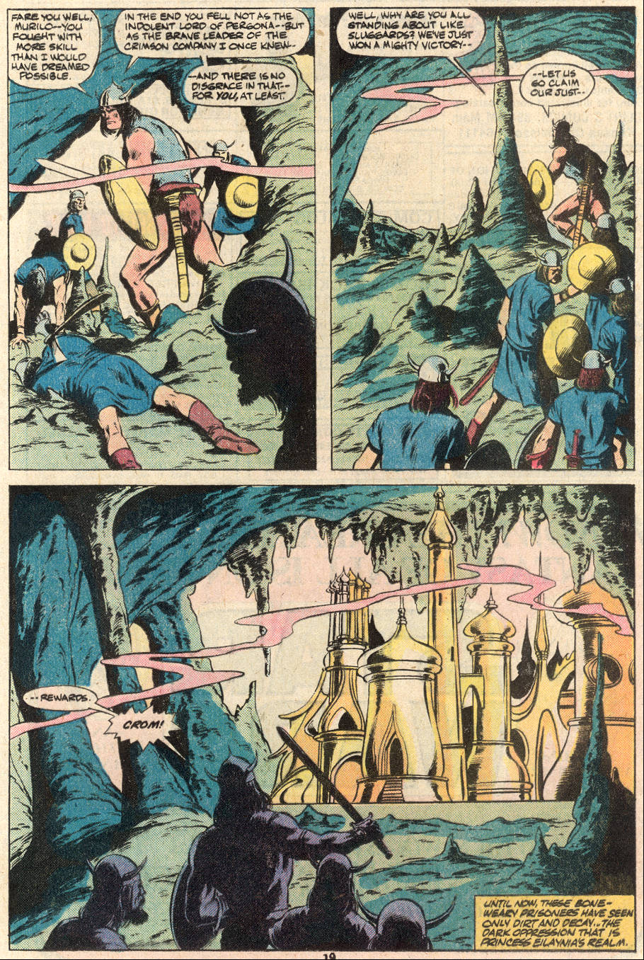 Conan the Barbarian (1970) Issue #124 #136 - English 16