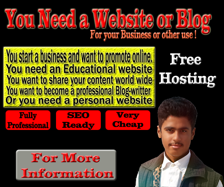 Start a Website or Blog Today!