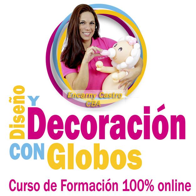 CURSO DE DISEÑO Y DECORACIÓN CON GLOBOS