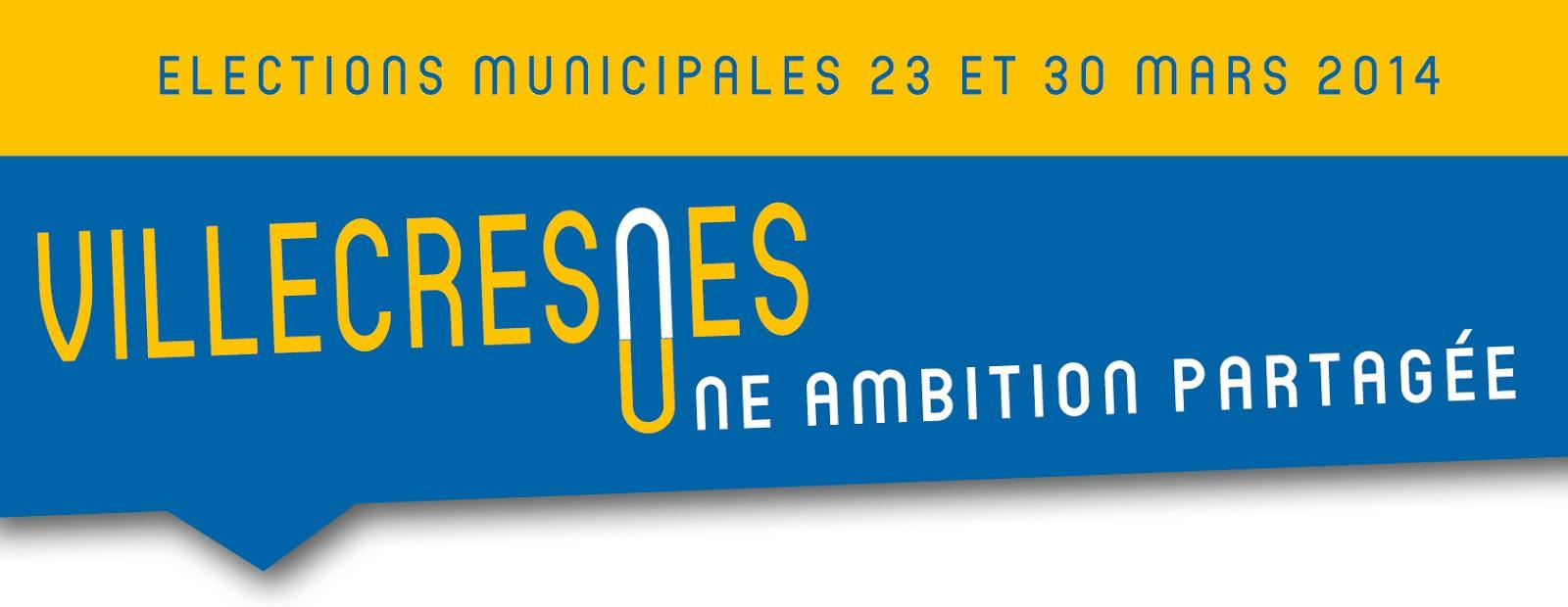 Retrouvez les anciens articles de la campagne des élections municipales de Villecresnes 2014